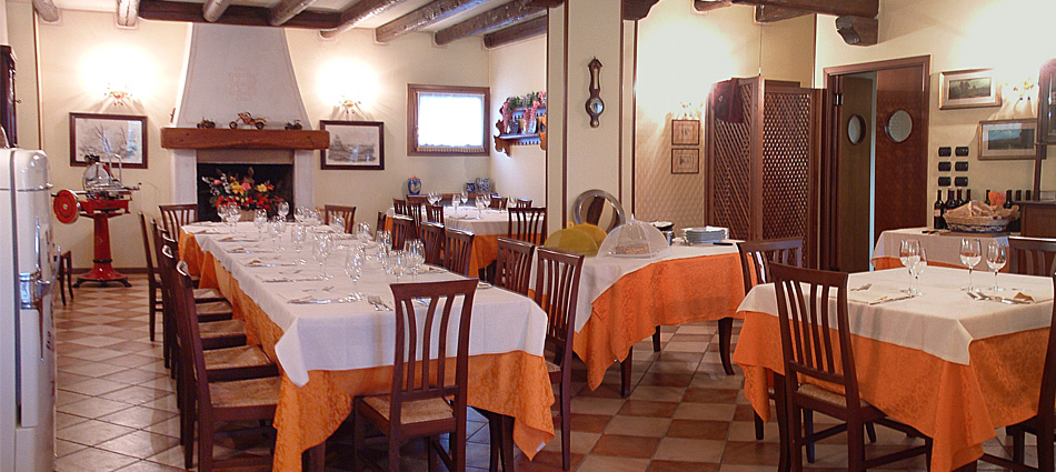 Agriturismo al Cavaliere - il ristorante